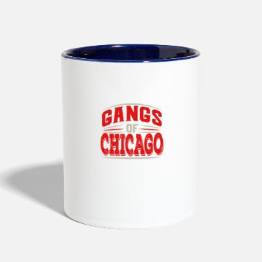 Underground Chicago - Gangs Of Chicago Illinois Underground Ci - Two-Tone Mug