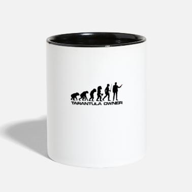 Black Evolution Tarantula owner gift Spider lover gift - Two-Tone Mug