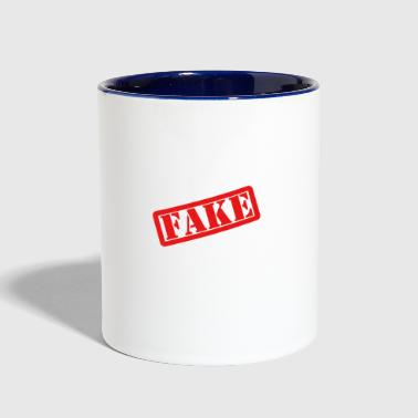 Fake - Contrast Coffee Mug