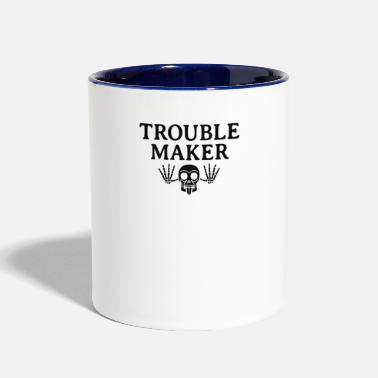 Troublemaker Troublemaker - Two-Tone Mug
