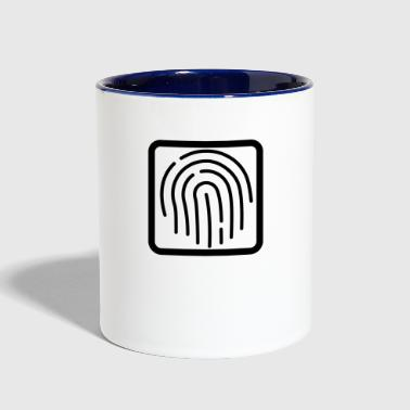 Plain logo - Contrast Coffee Mug