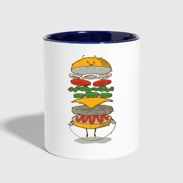 Sporty Fast Food - Contrast Coffee Mug