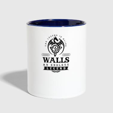 WALLS - Contrast Coffee Mug