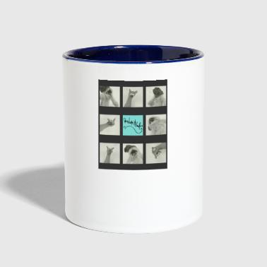 penelope & loafer tic-tac-toe - Contrast Coffee Mug