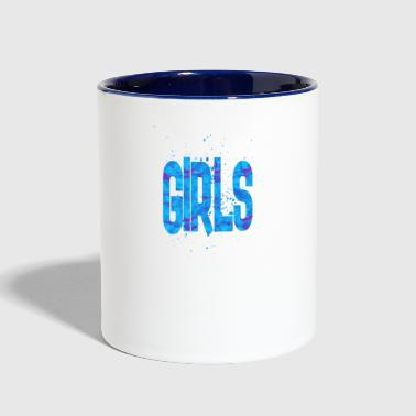 girls - Contrast Coffee Mug