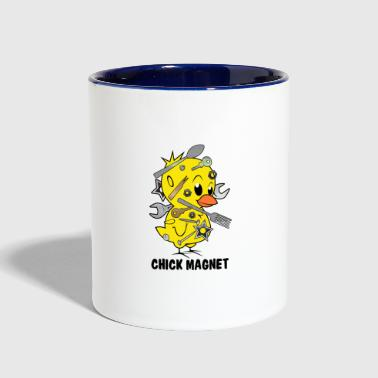 Chick Magnet - Contrast Coffee Mug