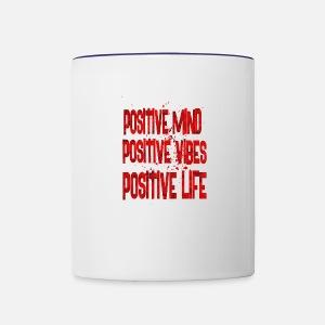 Positive Mind Positive Vibes Positive Life Water Bottle Spreadshirt