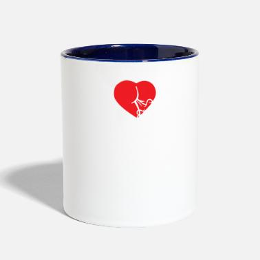 Fart I Love To Fart - Contrast Coffee Mug