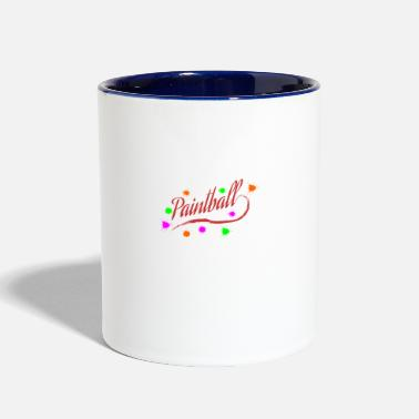Paintmarker Paintball - Two-Tone Mug