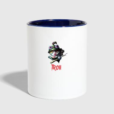League Of Legends Funny league of legends Teemo - Contrast Coffee Mug