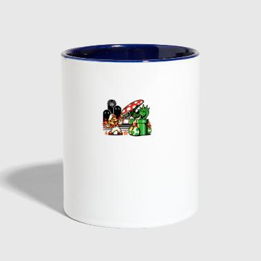 Over Game Over Man Game Over - Contrast Coffee Mug