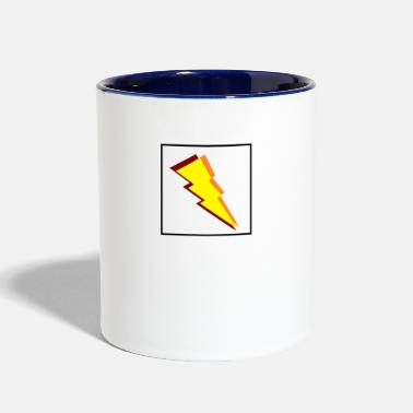 Lightning Lightning Bolt - Contrast Coffee Mug