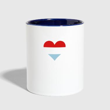 Holland A Heart For Holland - Contrast Coffee Mug