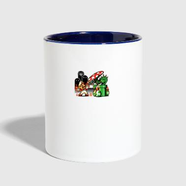 Game Over Man Game Over - Contrast Coffee Mug