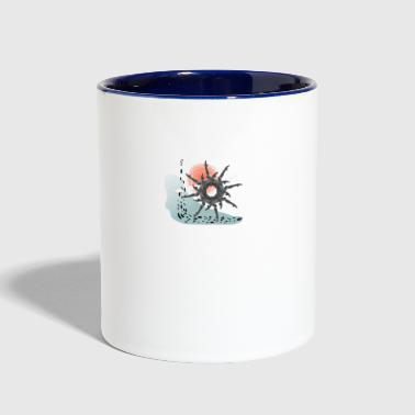 The Wheel - Contrast Coffee Mug