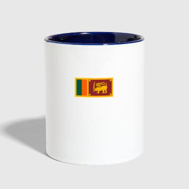 National Flag Of Sri Lanka - Contrast Coffee Mug