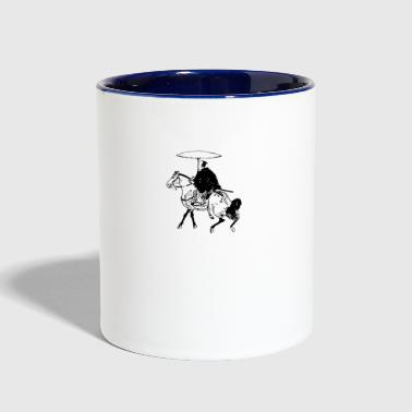 The Horseman - Contrast Coffee Mug