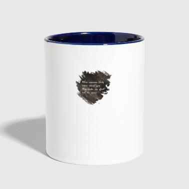 Quotes - Contrast Coffee Mug