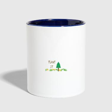 PLANT IT - Contrast Coffee Mug