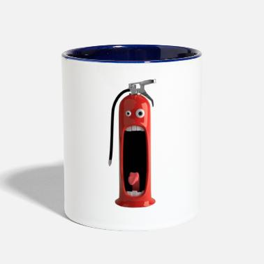 Fire Extinguisher - Two-Tone Mug