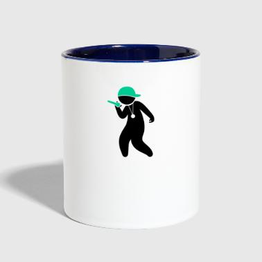Hiphop Rapper - Contrast Coffee Mug