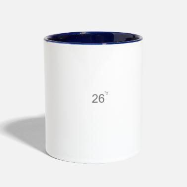 Cloudy Weather cloudy - Two-Tone Mug