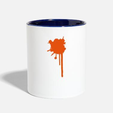 Splatter splatter  - Two-Tone Mug
