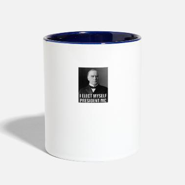 Mc President MC - Contrast Coffee Mug