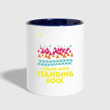 Stand With Standing Rock Shirt - Contrast Coffee Mug