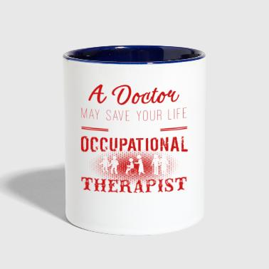 Occupational Therapist Shirts - Contrast Coffee Mug
