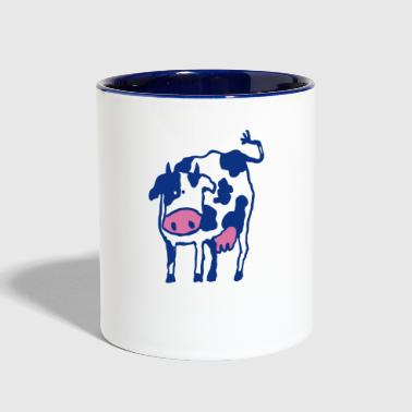 Holstein Cow Breed Artwork - Contrast Coffee Mug