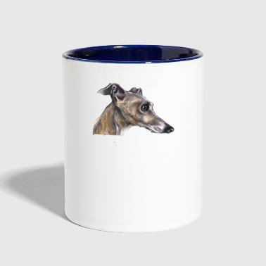 GREYHOUND GOOD TO GREYT SHIRT - Contrast Coffee Mug