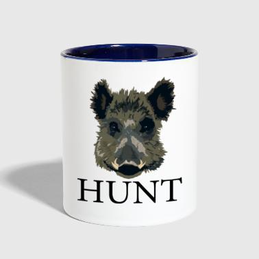 Hog Hunt - Contrast Coffee Mug