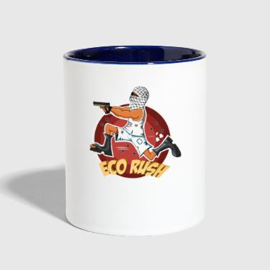ECO RUSH - Contrast Coffee Mug