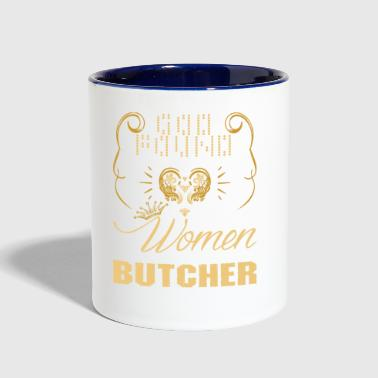 Strongest Women Made Butcher - Contrast Coffee Mug