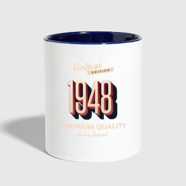 70th birthday - 1948 - Contrast Coffee Mug