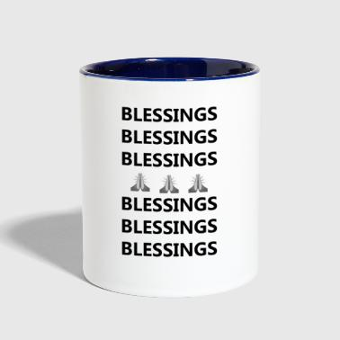 Blessings on Blessings - Contrast Coffee Mug