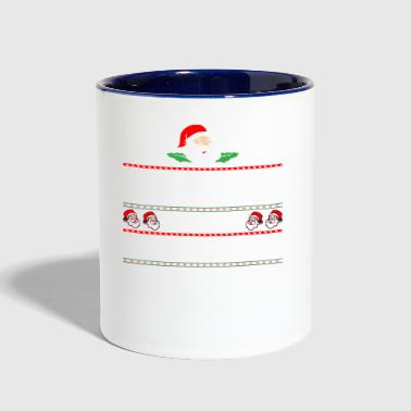 Be Nice To The Advocate Santa Is Watching - Contrast Coffee Mug