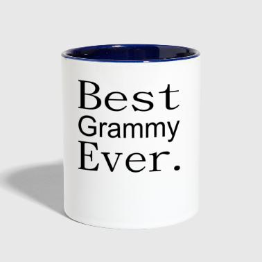 Best grammy ever shirt - Contrast Coffee Mug