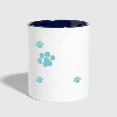 rescue dog - Contrast Coffee Mug