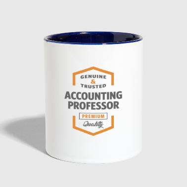 Professor Accounting Professor - Contrast Coffee Mug