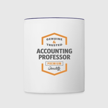 Accounting Professor - Contrast Coffee Mug