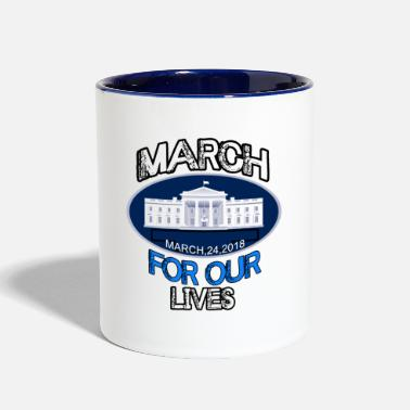 Days Of Our Lives MARCH FOR OUR LIVE - Contrast Coffee Mug