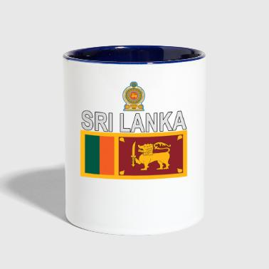 Sri Lanka sport flag - Contrast Coffee Mug