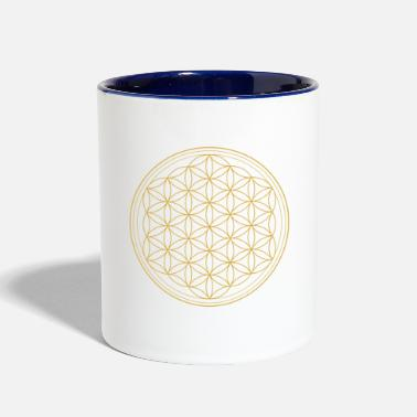 Life Flower Flower of Life - Contrast Coffee Mug