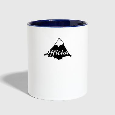 The Official Yodeler Design Alps Mountain Top - Contrast Coffee Mug