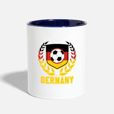 World Germany Soccer - Fanshirt World Flag 2018 - Contrast Coffee Mug