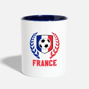 World France Soccer - Fan World Flag Gift 2018 - Contrast Coffee Mug