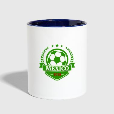 Team Mexico world Soccer Cup Russia 2018 fan art - Contrast Coffee Mug