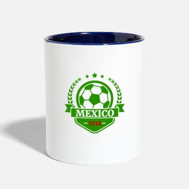 World Team Mexico world Soccer Cup Russia 2018 fan art - Contrast Coffee Mug